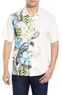 c9bc9e5b Tommy Bahama Tahitian Tweets Silk Camp Shirt at Amazon Men's ...