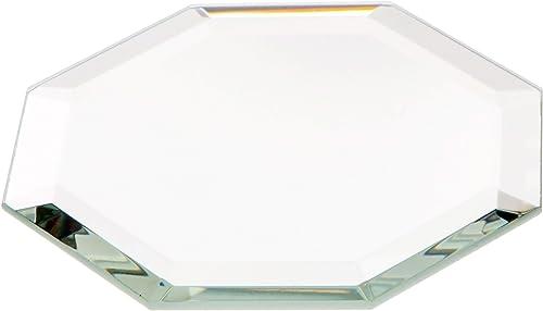 Plymor Octagon 3mm Beveled Glass Mirror