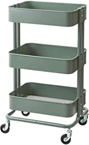 IKEA Raskog Home Kitchen Storage Utility cart (Grey-Green)
