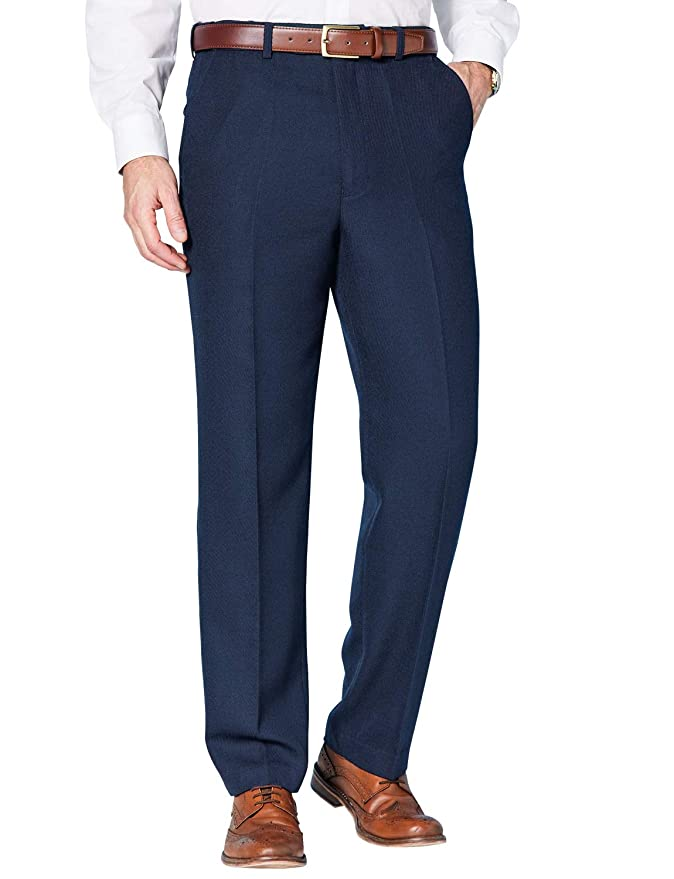1920s Men's Pants, Trousers, Plus Fours, Knickers Mens HIGH WAISTED Cavalry Twill Wool Blend Trouser $75.26 AT vintagedancer.com