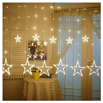 Led Weihnachtsbeleuchtung Für Fenster.Rmine Lichterkette Weihnachtsbeleuchtung Für Garten Hochzeit Weihnachten Garten 12 Led Kugel Fenster Dekoration Atmosphäre Warm Und Romantisch