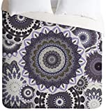 Deny Designs  Monika Strigel Boho Winter Nights Duvet Cover, Twin/Twin XL