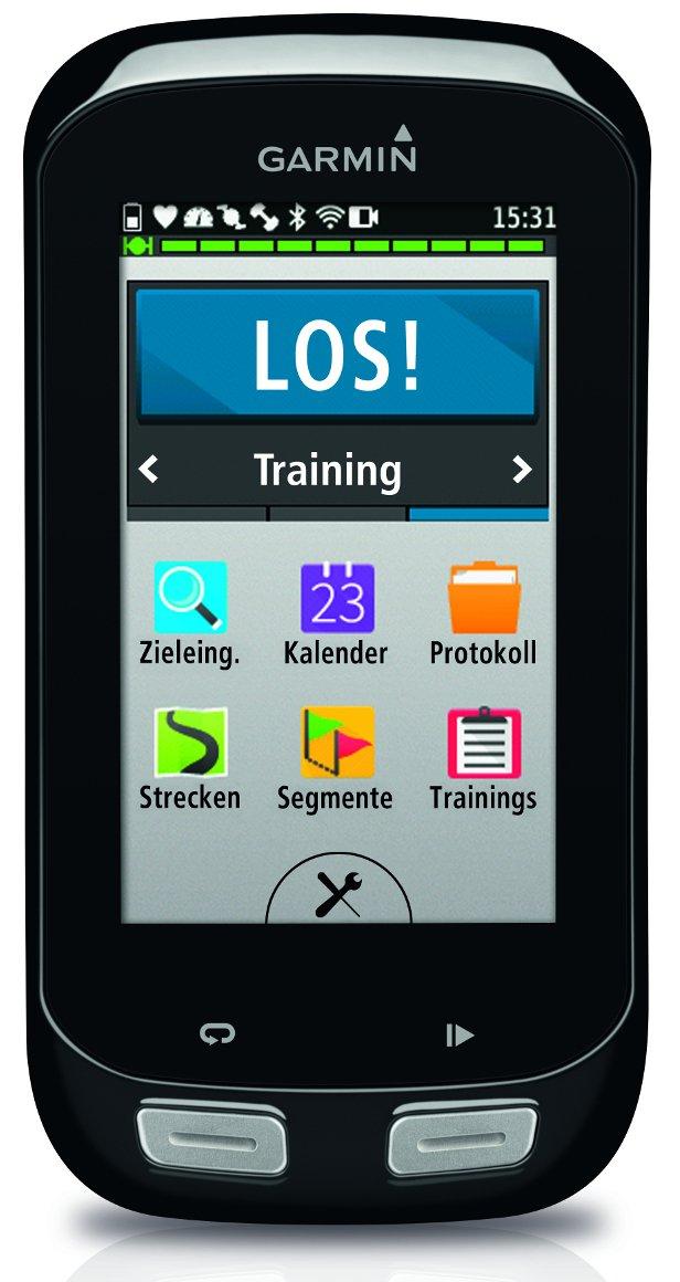 Garmin Edge 1000 GPS Bike Computer con Touchscreen e Navigazione, Mappa Europa e Notifiche Smart, Nero/Antracite product image