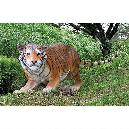 The Grand-scale Wildlife Animal Collection: Bengal Tiger Statue Sculpture (Scale Grand Wildlife Animal)
