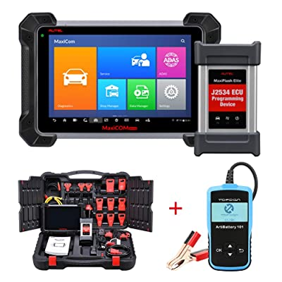 Let's go for the Autel Maxisys Pro MK908P which's one of the best professional car diagnostic tools