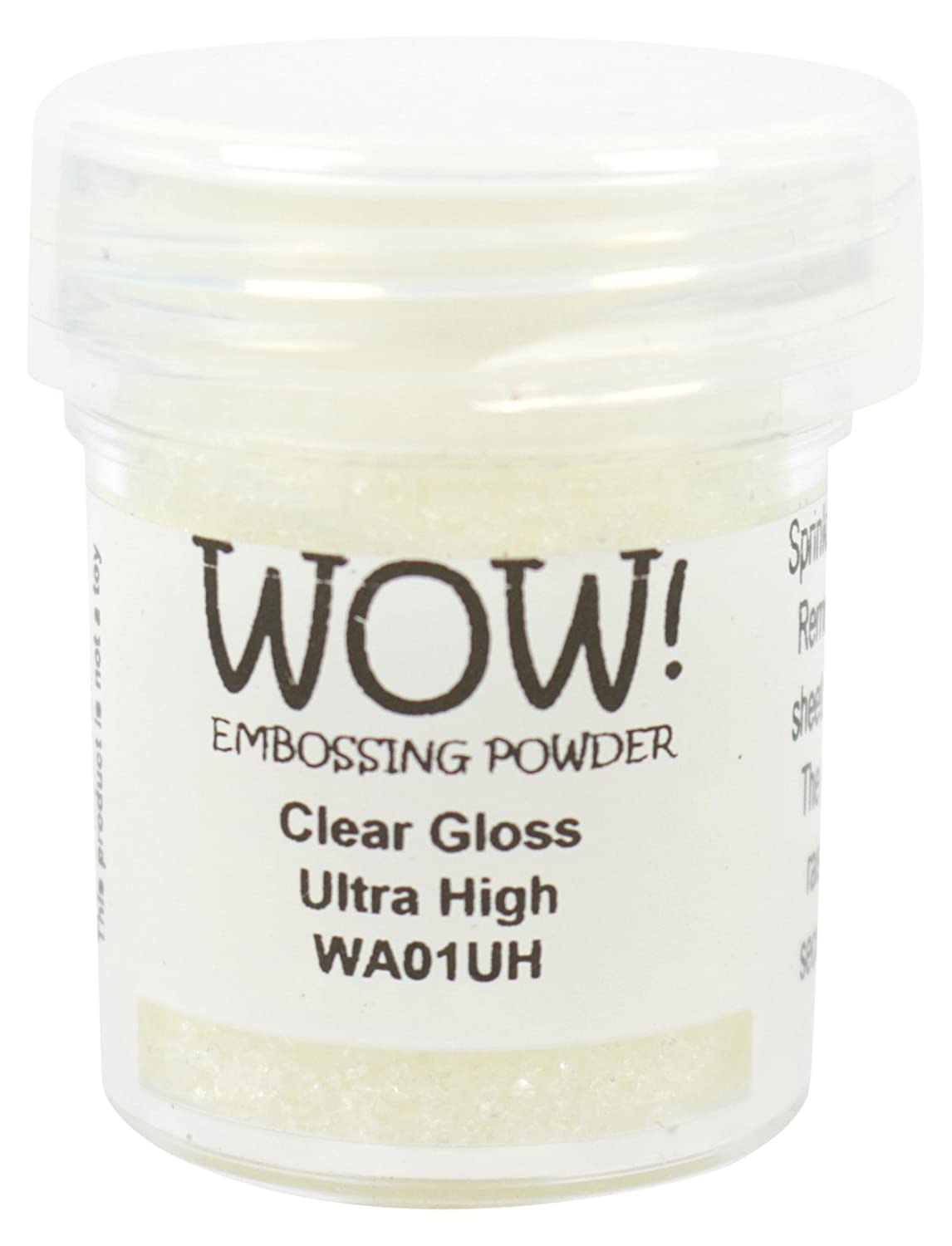 WOW Clear gloss-ultra High, polvere per goffratura,, 5 x 3 x 3 cm WOW Embossing Powder WOWA01UH