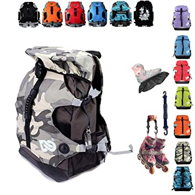 Denuoniss Professional Inline Skates Travel Backpack (#16 Msize fit below 40/7): Clothing