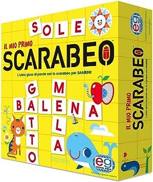 Spin Master Il Mio Primo Scarabeo, Juego de Mesa para el Aprendizaje de Palabras, de 4 a 7 años: Amazon.es: Juguetes y juegos