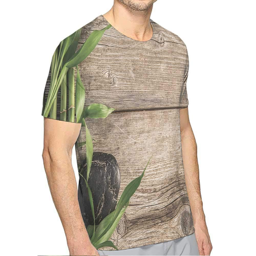 PRUNUS T-Shirt v Black for Men Fashion Mens 3D Top Tees