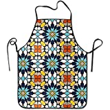 Staroden Islamic Design Deluxe Cute Aprons Personalized Printing Kitchen Cute Apron