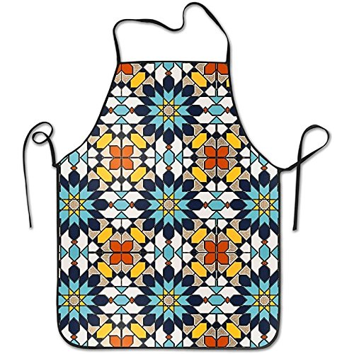 Staroden Islamic Design Deluxe Cute Aprons Personalized Printing Kitchen Cute Apron by Staroden