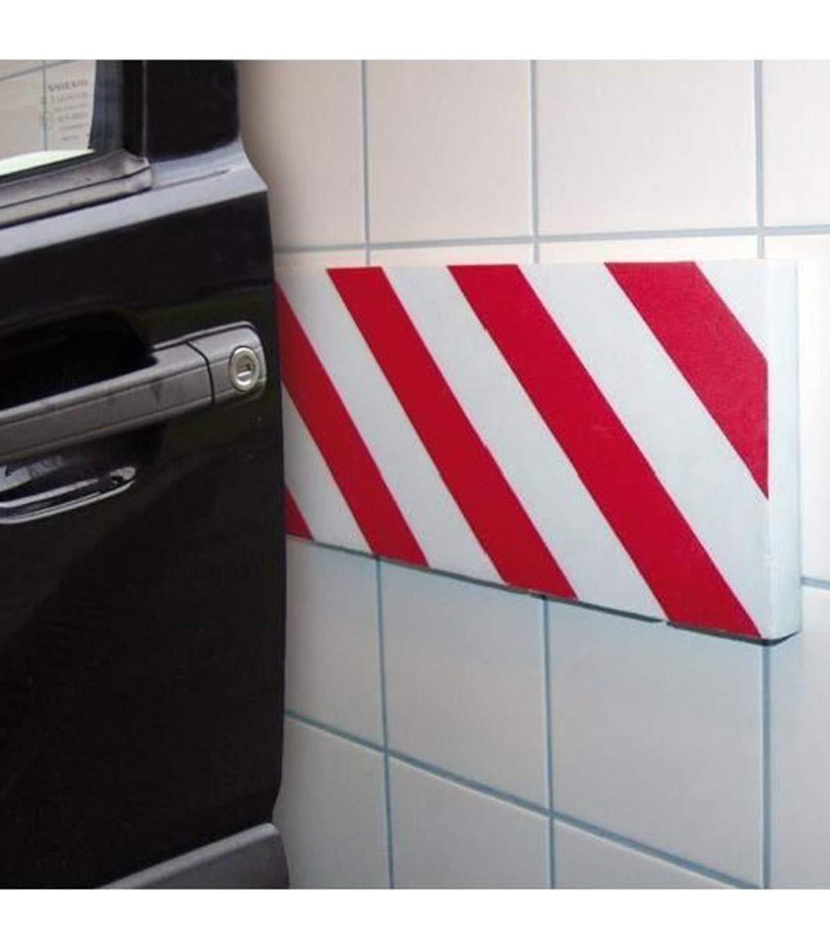 TrAdE shop Traesio Pannello Adesivo SEGNALETICO per Auto E Moto PARAURTI SALVAPORTA Garage Box