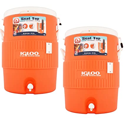 Amazon.com: Igloo - Enfriador de agua de 10 galones: Home ...