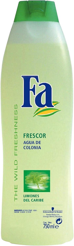 Fa - Colonia Limones del Caribe - Esencia cítrica - 750 ml