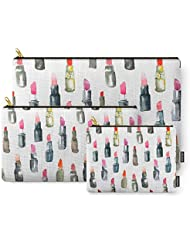 Society6 For The Love Of Lipstick Carry-All Pouch