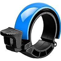 SGODDE Fahrradklingel Laut, O Design Fahrradglocke, für Lenker von 22,2 bis 31,8 mm, Radfahren Fahrrad für Alle Fahrrad (3 Farben,Lenker Alarm Horn Ring 22,2-31.8mm)