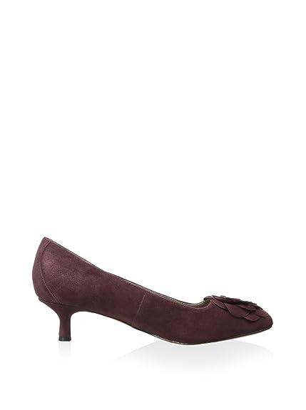 bf1882be79 Amazon.com: Donald J Pliner Purple Seel Suede Kitten-Heel Pump, Bordo: Shoes