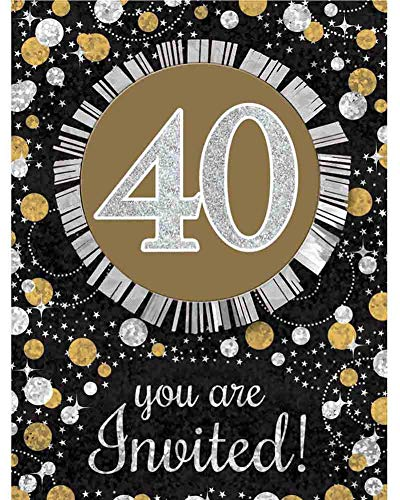 Sparkling Celebration 40 Invitations ()