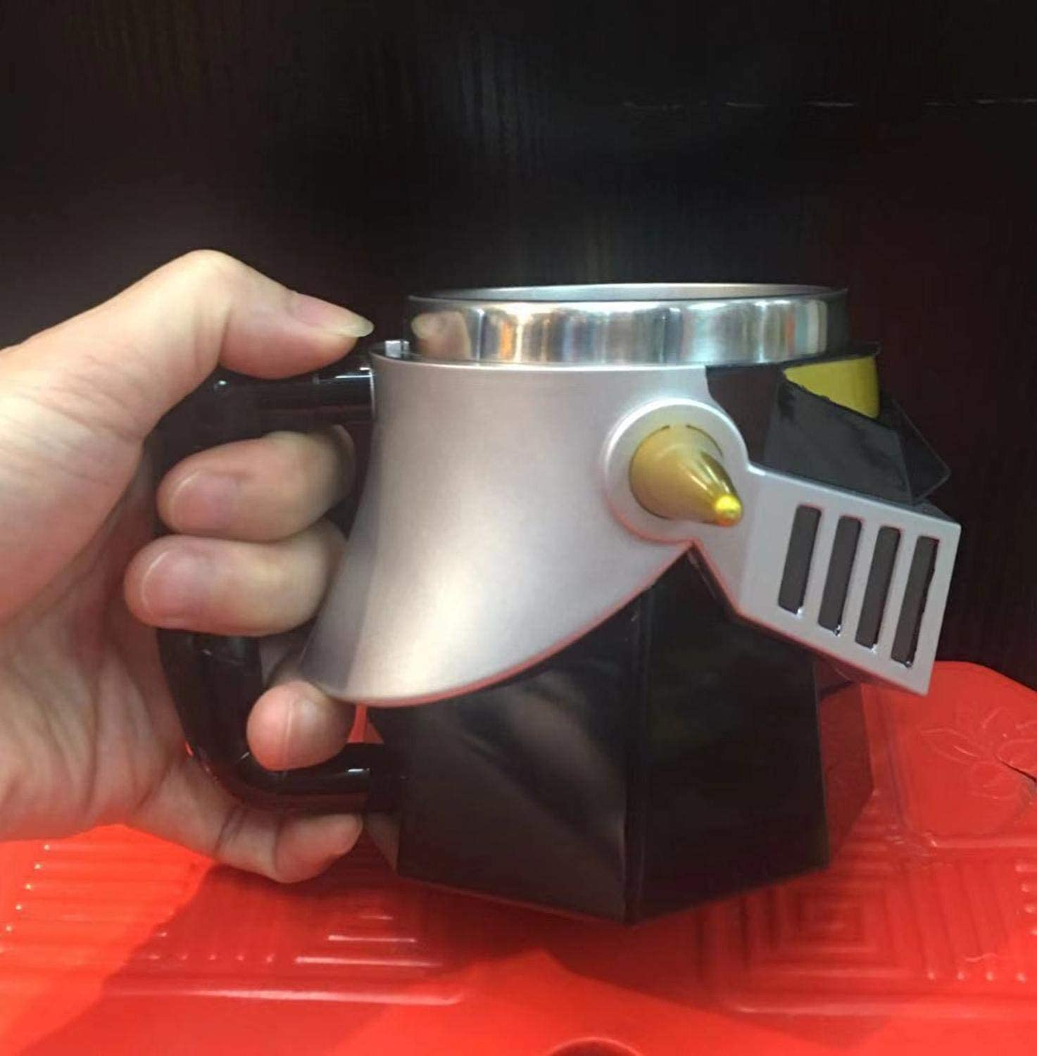 Creative mazinger Z transformation robot 420ml pc stainless steel cup