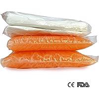 Boston Tech BE-101a - Cera de parafina para uso en todo tipo de Baños de Parafina, Tratamiento para manos y pies, uso terapeutico, dos bloques de 450 g + bolsas protectoras. Olor a Naranja
