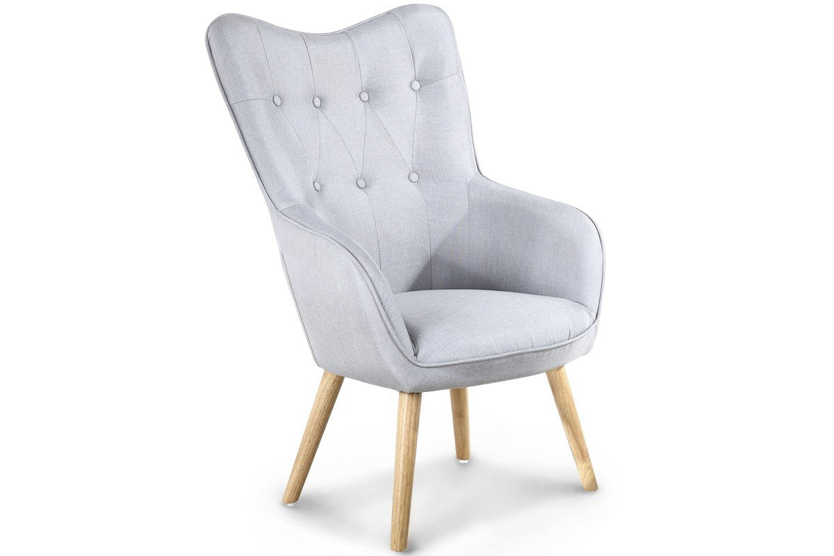 Dream Warehouse ALTON LIGHT GREY ARMCHAIR