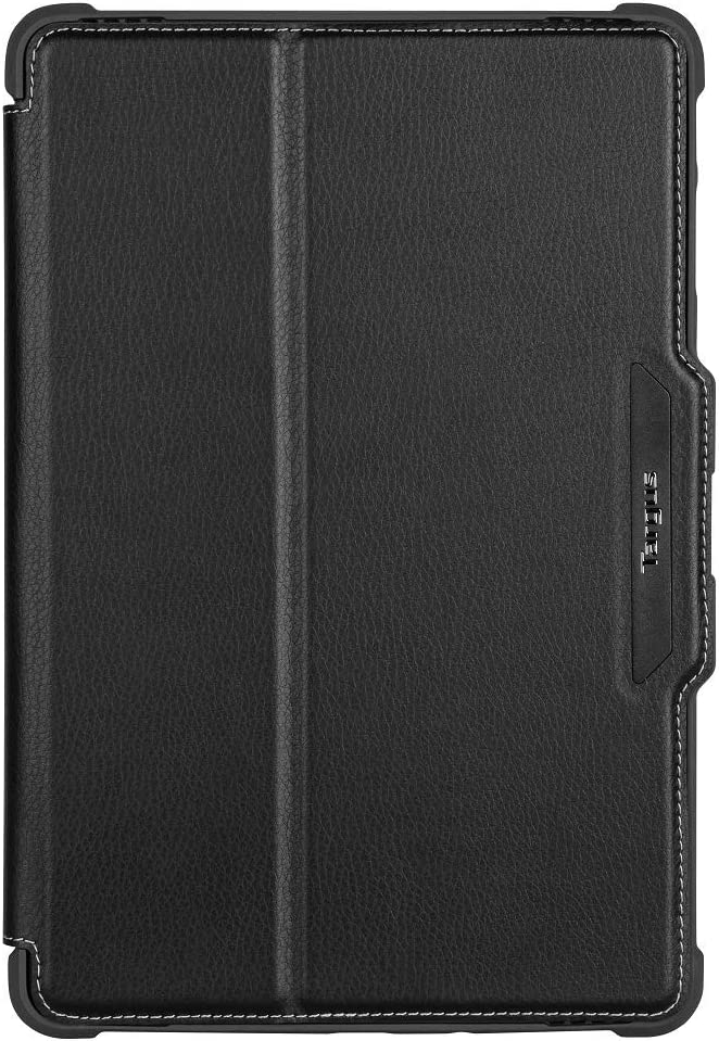 Targus VersaVu Samsung Galaxy Tab S4 10.5-Inch (2018) Protective Case Drop Tested and Stand Folio Secure Closure, TriFold Stand Cover, Enhanced Audio, Stylus Holder, Black (THZ753GL)