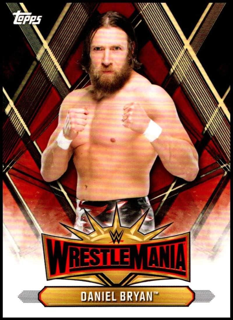 2019 Topps WWE Smackdown Live 20 Years of SmackDown #SD-28 Daniel Bryan Wrestling Trading Card