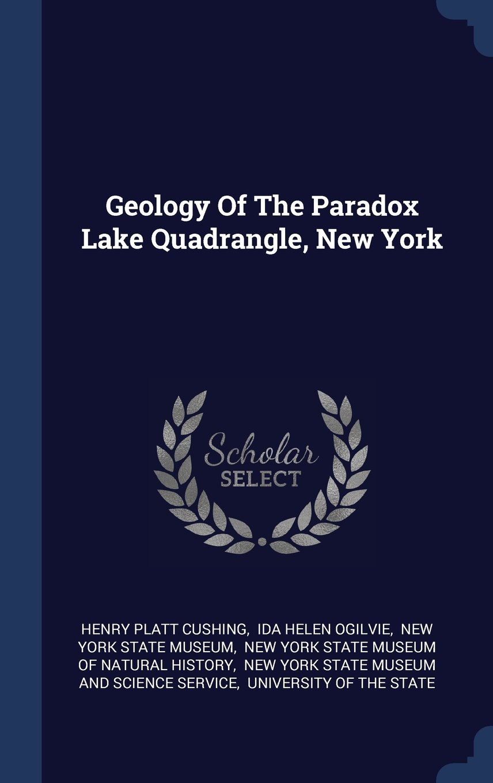Download Geology Of The Paradox Lake Quadrangle, New York ebook