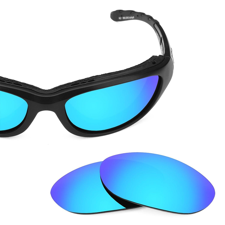 Revant Lentes polarizados para Wiley X Airrage (Azul Hielo) MirrorShield®: Amazon.es: Ropa y accesorios
