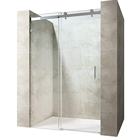 Durovin Bathrooms Frameless Sliding Door For Shower Enclosure 8mm