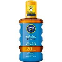 NIVEA SUN Sonnenöl-Spray, Lichtschutzfaktor 20, Sprühflasche, Schutz und Bräune, 200 ml