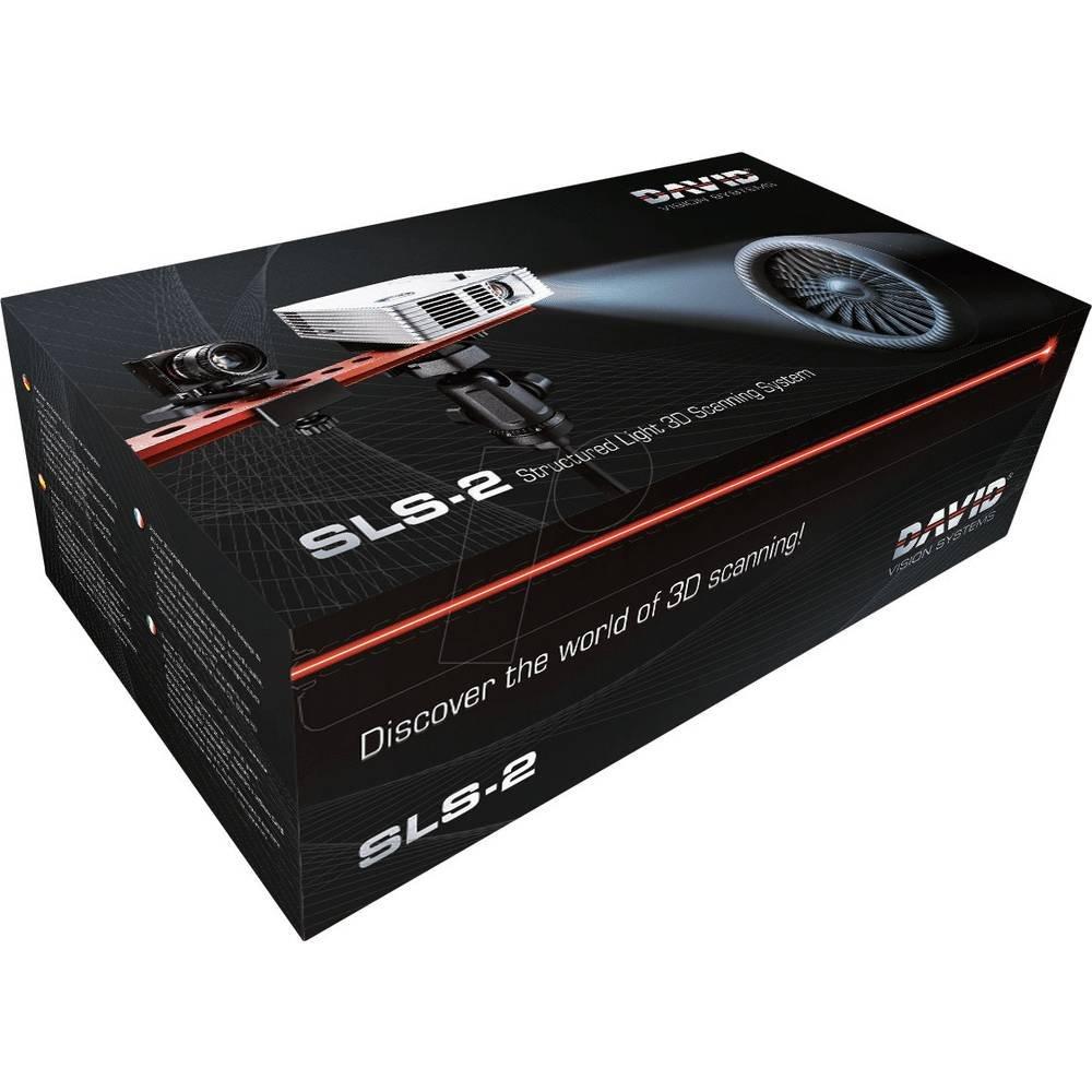 David SLS-2 Scanner 3d, blanca/azul/rojo/verde 79012126