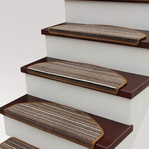 SF-ICZY Alfombra antideslizante para escalera, 3 juegos cada uno, para antideslizante hermosa alfombra antideslizante zapatos. Tobogán perros mayores (3 piezas), C, 75 cm x 24 cm: Amazon.es: Hogar