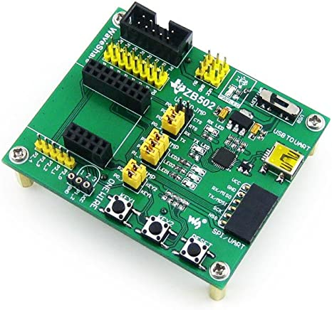 ZB502 ZigBee Mother Wireless Board Provides I//O Expansion Connectors and Various Interfaces @XYG
