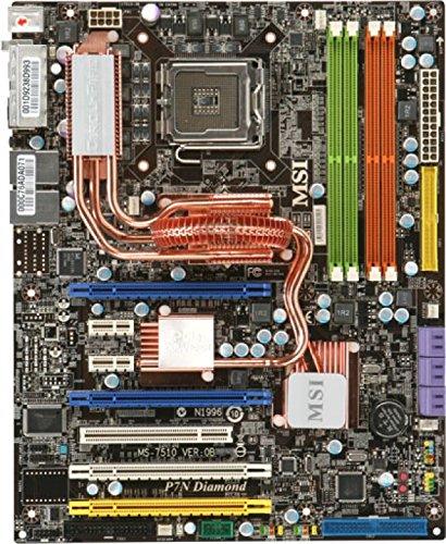 MSI P7N Diamond MS-7510 NVIDIA nForce 780i SLI Socket 775 ATX Intel Motherboard with SoundBlaster X-Fi Extreme Audio