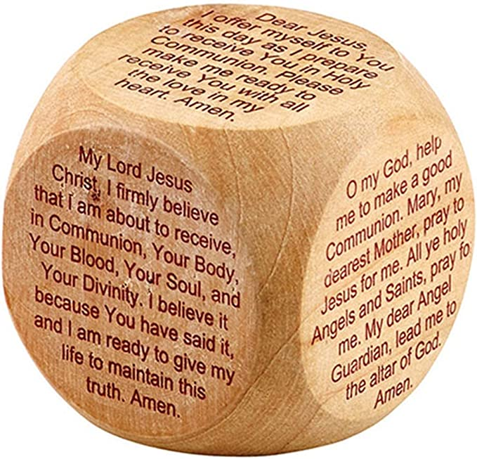 Inspirational Religious Gift for Boys or Girls 3 x 3 Inches First Reconciliation Puzzle Cube for Children or Teens