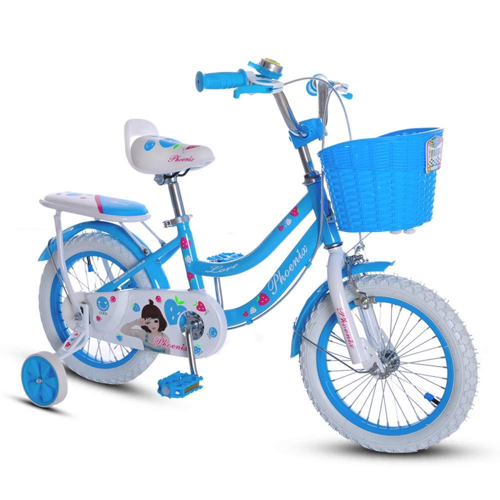 憧れ CHS@ 子供の自転車2-4-6歳16インチの自転車の女の子サイクリング少年のベビーカーキッズブルーマウンテンバイクのトレーニングホイール CHS@ 子ども用自転車 B07PV62X9D B07PV62X9D, リサイクル ハンター:3957987d --- senas.4x4.lt