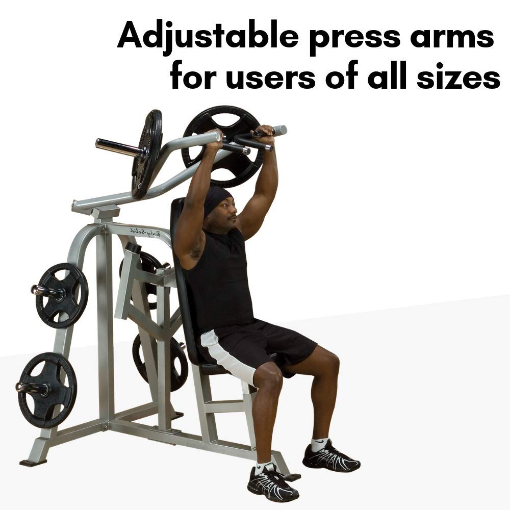 Body-Solid ProClubLine Leverage Shoulder Press LVSP