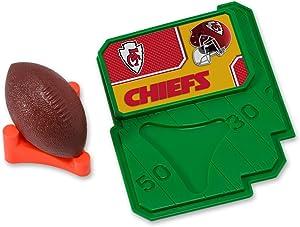 CAKEMAKE NFL Football & Tee, Cake Topper, Kansas City Chiefs