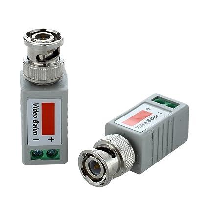 Amazon com: BNC Video Transmitter - SODIAL(R)2 x Video Balun