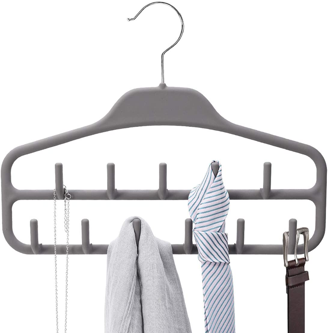 Easy Hook Antislip Closet Organizer Clothes Hanger Storage Rack Hanger Holder
