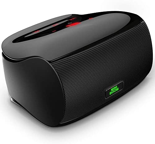 Touch Bluetooth Speakers Portable Wireless Outdoor Speaker with Superior Sound and Dual Powerful Subwoofer Enhanced Rich Bass Built in Microphone Bluetooth 4.1 for iPhone ipad Tablet Laptop Echo dot
