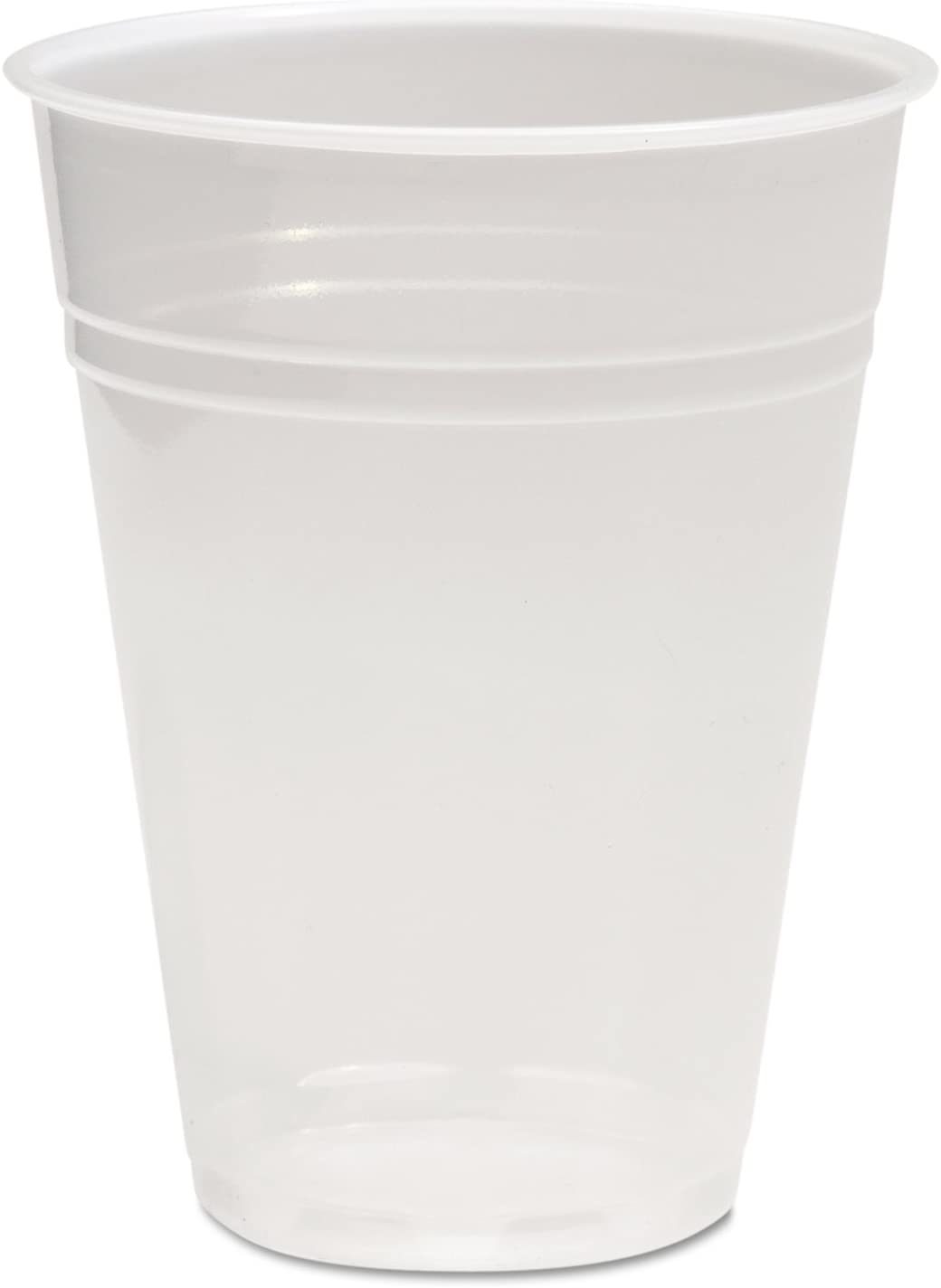 Boardwalk Translucent Plastic Cold Cups, 9oz, 100/Bag, 25 Bags/Carton