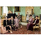Downton Abbey Maggie Smith as Violet Crawley, Dowager Countess of Grantham with Women in Formal Room 8 x 10 Inch Photo