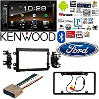 2004-2016 Ford F250/350/450/550 Kenwood DDX25BT 6.2 2-Din In-Dash DVD Monitor Bluetooth Receiver Sirius/MP3/WMA With Backup Camera