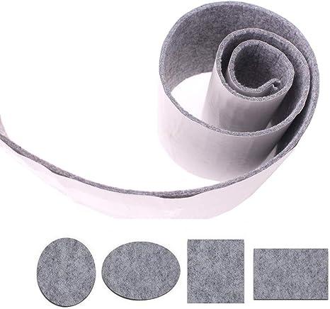 stratifi/é noir l/éger autocollants en silicone Pad pour prot/éger stri/ée parquet en bois dur Shintop antid/érapant meubles Pad