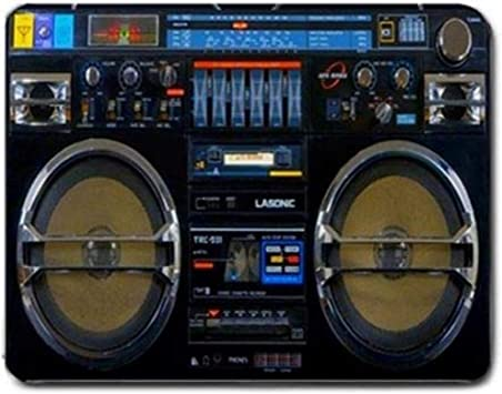 Alfombrilla de Teclado,Retro DJ Stereo Hip Hop Rap Music ...