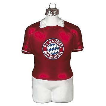 Fc Bayern Munchen Christbaumschmuck Trikot 2er Set Amazon De