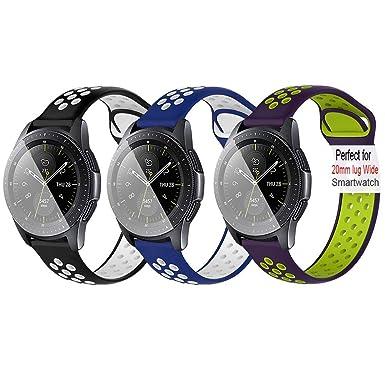 Amazon.com: Uwatchband 20mm Universal Replacement Band ...