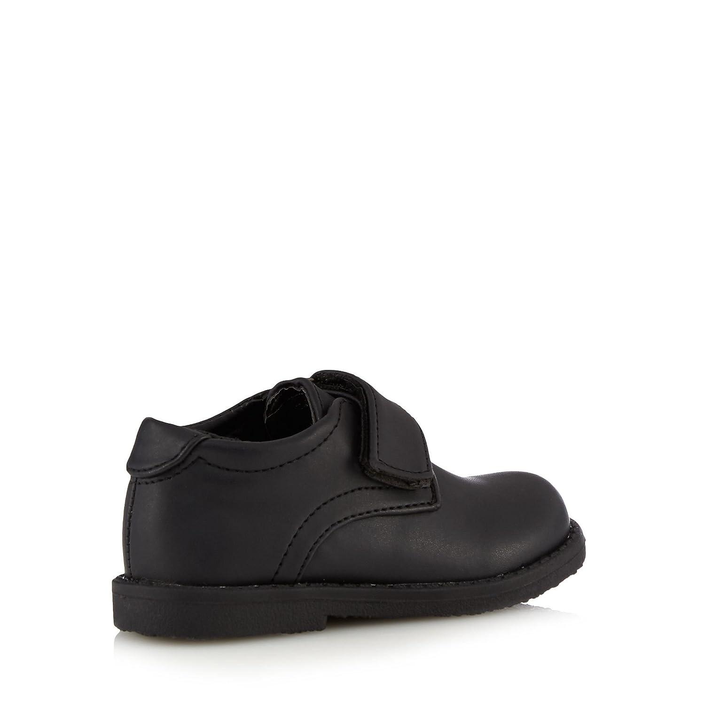 a9314b600df1 Debenhams Kids Boys  Black Rip Tape School Shoes  Amazon.co.uk  Shoes   Bags